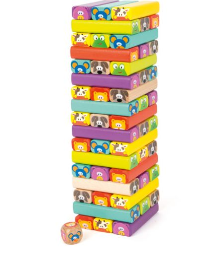 Small Foot Animal Wobbling Tower