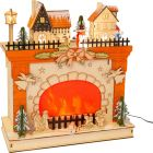 Small Foot Winter World Fireplace Lamp PREORDER