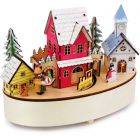 Small Foot Wintertime Musical Box and Lamp PREORDER