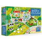 Usborne On the Farm - Book and Jigsaw